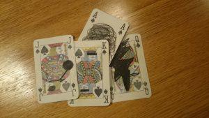 De beste kortene ble ødelagt.